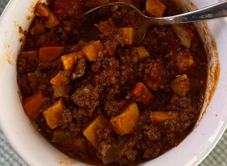 Sweet Potato Chilli