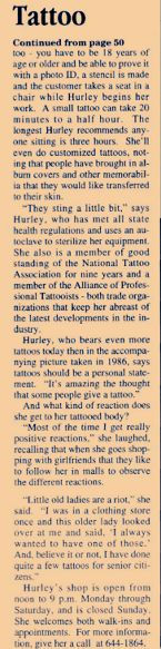 Ancient Art Tattoo 34410 Tenley Court, #1, Lewes, DE 19958