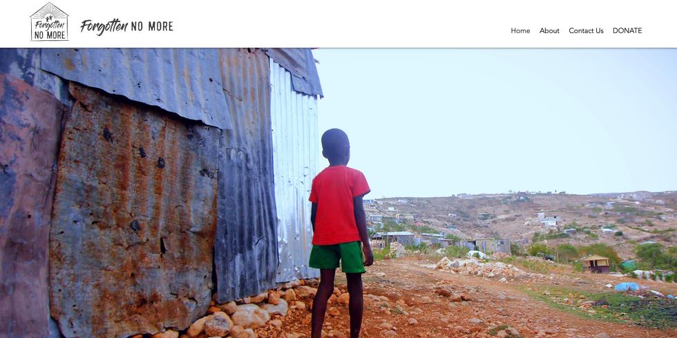 Forgotten No More Haiti