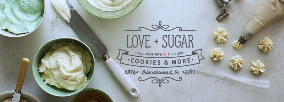 Love + Sugar Cookies