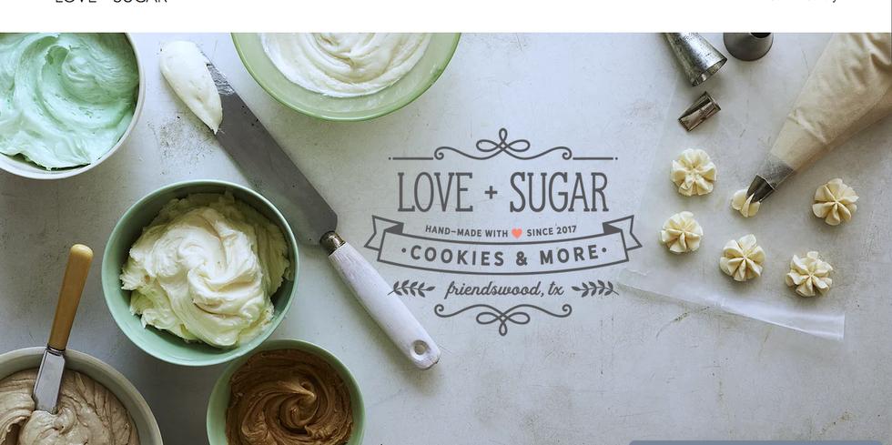 Love + Sugar Cookies