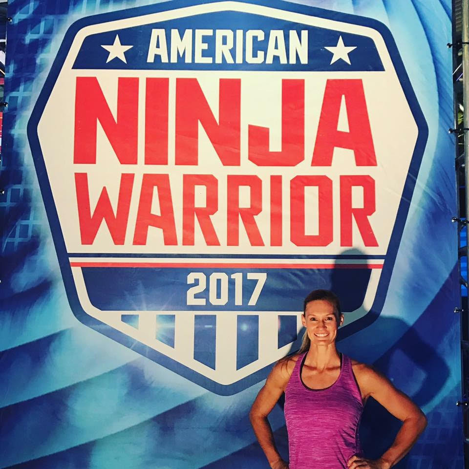 Emily Durham at American Ninja Warrior Competition