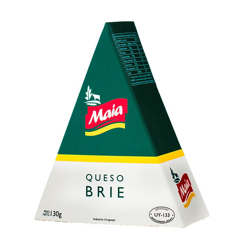 Brie Cheese Wedge 130g.