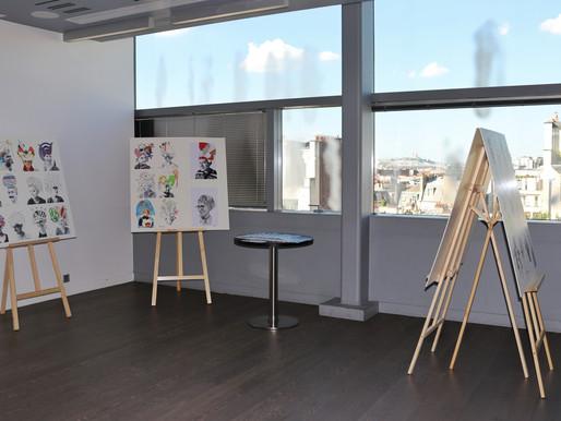 Première exposition commune des ateliers NOC !