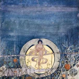 Hunter's Moon by C. R. Mackintosh