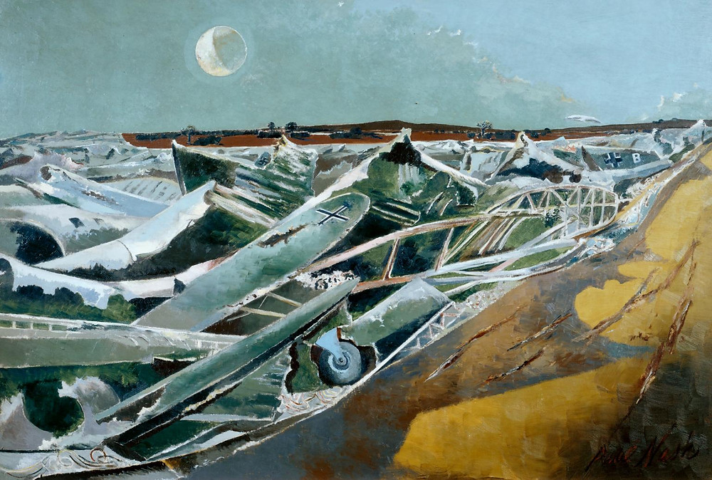 Dead Sea by Paul Nash