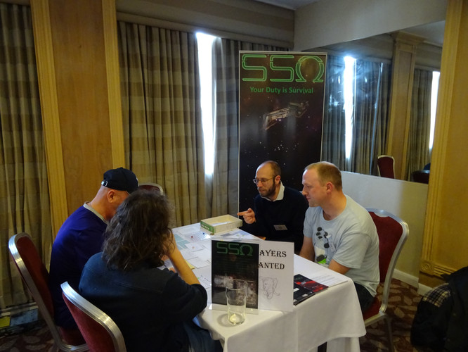 SSO Public playtesting at ColCon 2018
