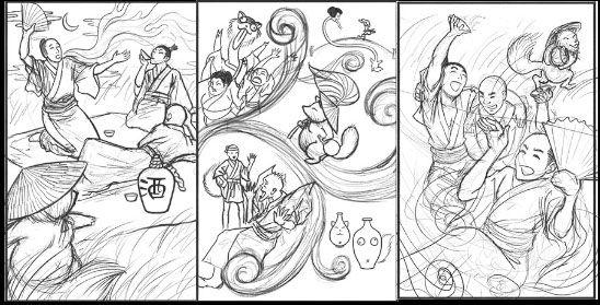 Tanuki story set.jpg