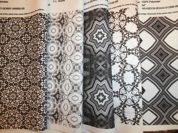 Fabric designed by Artist Christina Kinetica