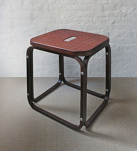 Bent Wood Stool