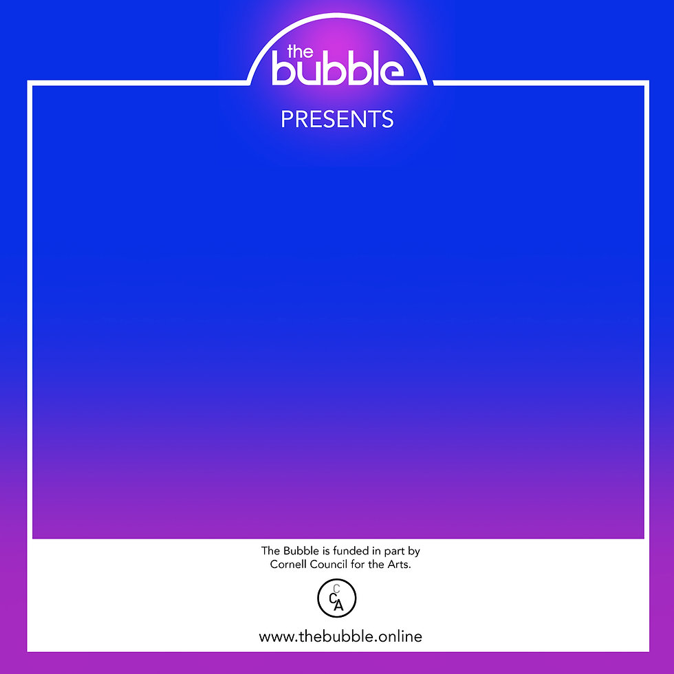 The Bubble Promotional Poster for Event: Four Daniels