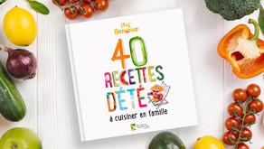 """""""40 recettes d'été à cuisiner en famille"""" - livre gratuit à télécharger"""