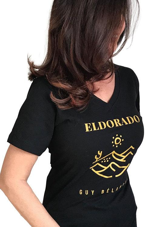 T-Shirt ELDORADO (Femme) Noir
