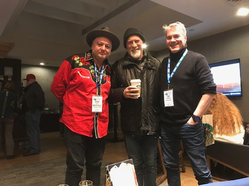 avec David Gogo & Harry Manx Maple Blues Awards 2019