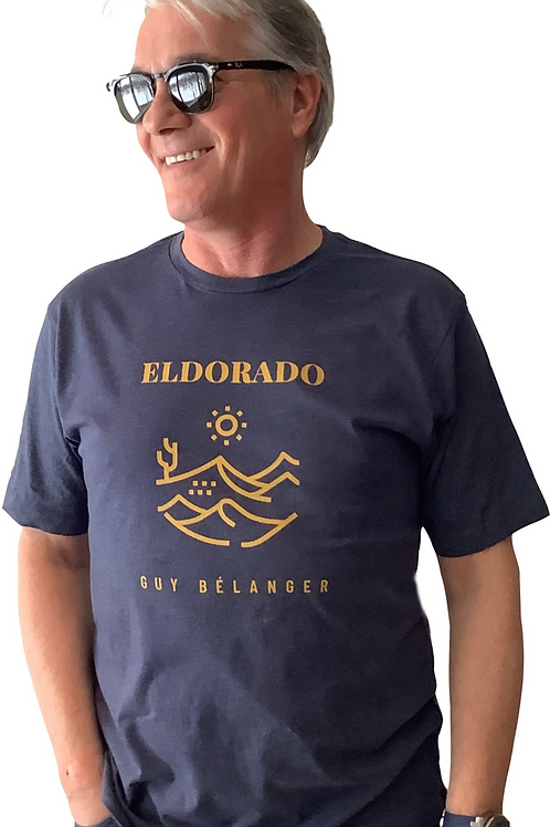 T-Shirt ELDORADO (Homme) Bleu