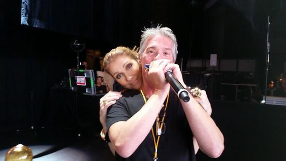 Invité Tournée Céline Dion 2016! Gros bonheur...