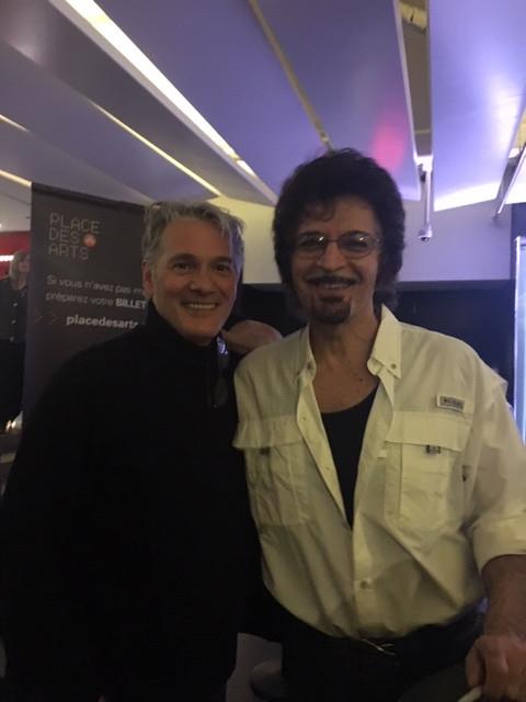 avec Gino Vanneli