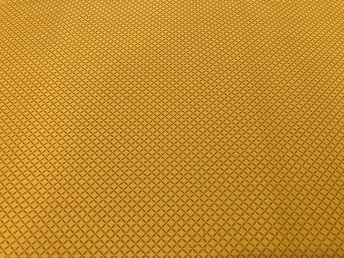 Tricoline Geométrico Amarelo