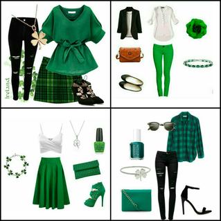 Looks para comemorar Saint Patrick's Day!