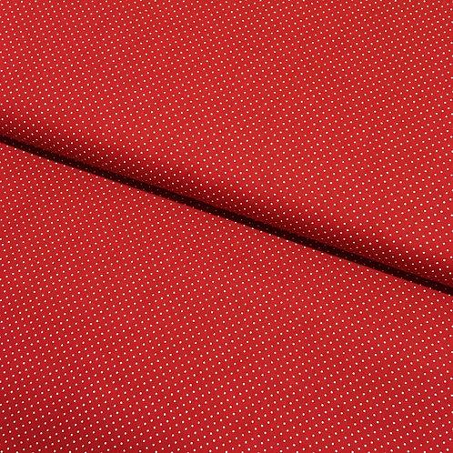 Tricoline Micro Poá Vermelho