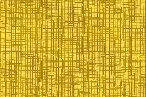 Tricoline Rabisco Amarelo