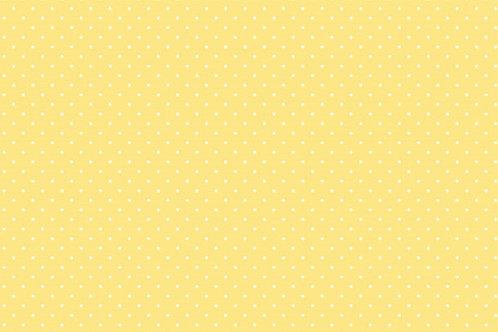 Tricoline Poá Amarelo Claro