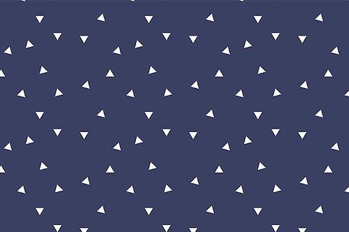 Tricoline Triângulos Marinho