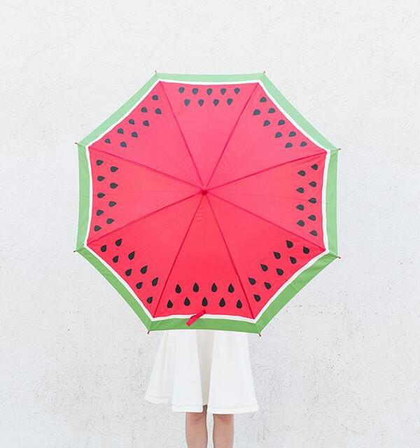 Guarda-chuva fofo inspirado na fruta