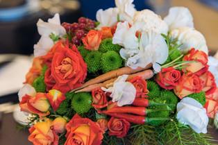 """Décoration Florale """"Fleurs & Légumes"""""""