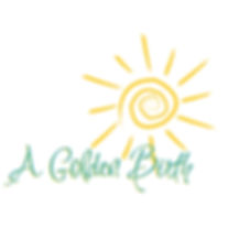 a golden birth logo