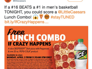 FREE Little Ceasars Lunch Combo 4/2