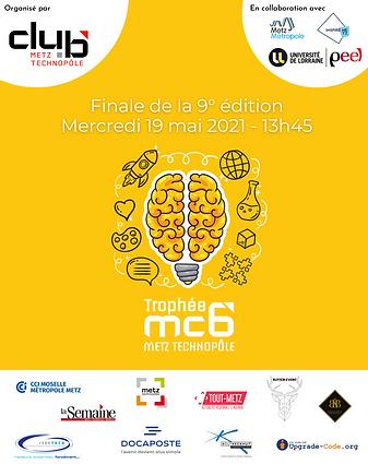 Dossier de presse - Affiche Trophée mc6