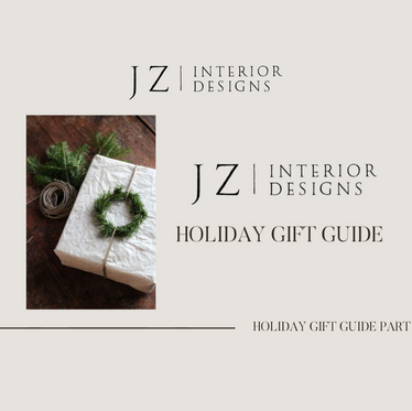 Holiday Gift Guide Part Une