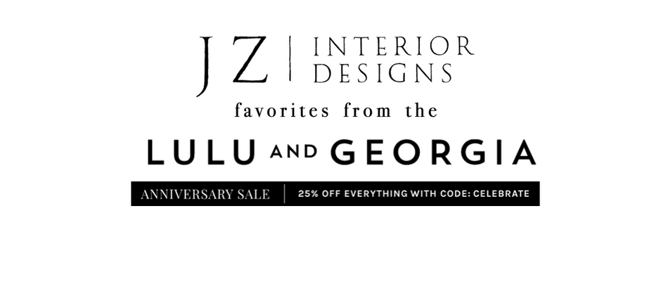 Lulu & Georgia Anniversary Sale!
