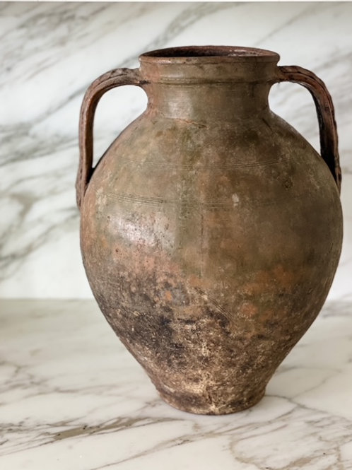 Found Large Urn