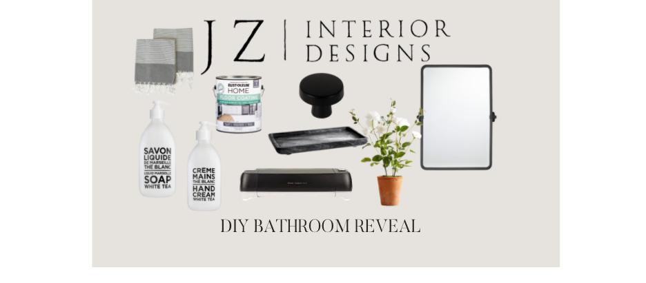 DIY Bathroom Reveal