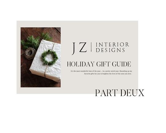 Gift Guides Part Deux
