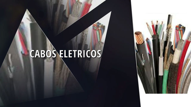 CABOS E FIOS ELETRICOS