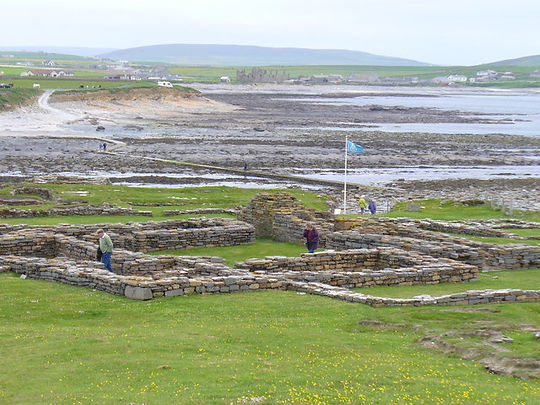 Viking_Remains,_Brough_of_Birsay_-_geogr