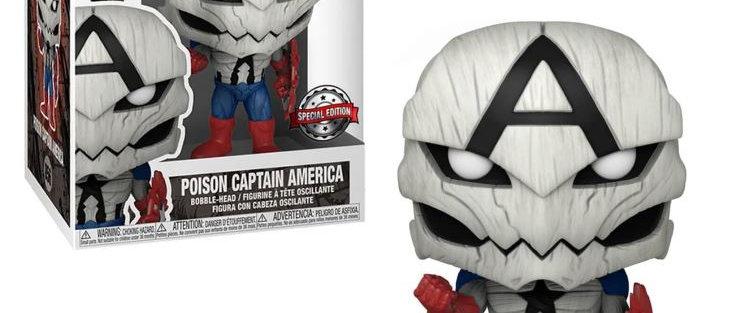 Poison Captain America 856