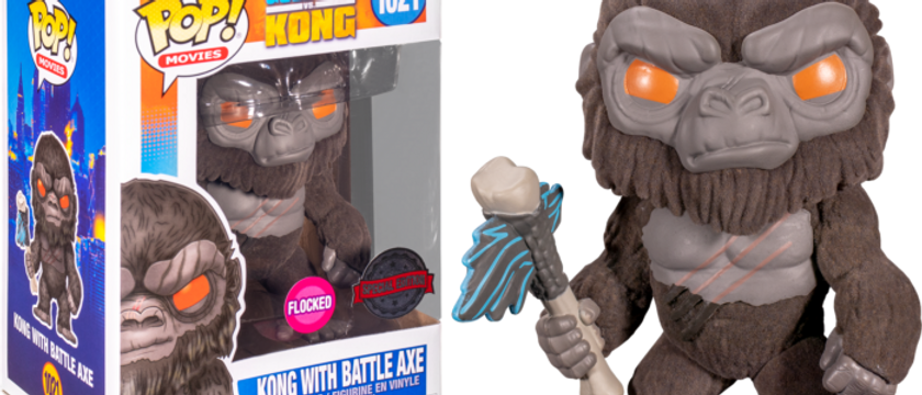 Kong with Battle Axe 1021