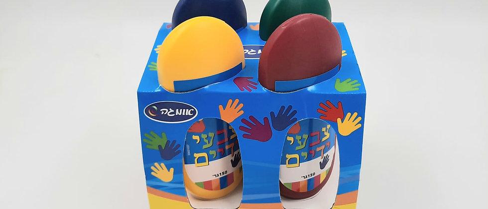 מארז 4 צבעי ידיים