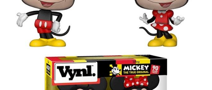Vynl Mickey + Minnie