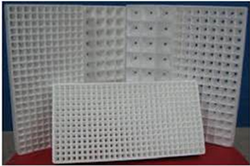 Polystyrene Seedling Trays(260 holes)