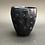 Thumbnail: Black and Blue Polka Dot Cup