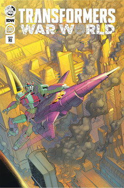 Transformers War World nº30 Art Cover