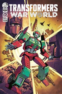 Transformers War World nº31 Art Cover