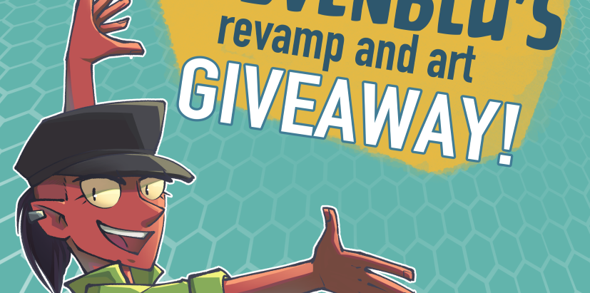 SidVenBlu's Revamp and Art Giveaway!
