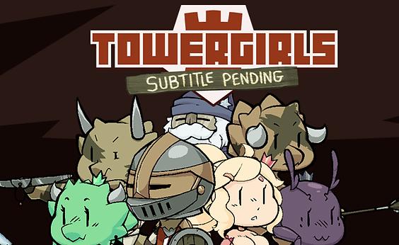 Towergirls : Subtitle Pending Banner