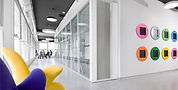 """למכירה בלוד בבניין משרדים בין כ 10 שנים ,כ 7000 מ""""ר בנוי ברמה גבוהה, בשלוש קומות , בתוספת של חניון עם כ 90 מקומות חנייה . הנכס מושכר בחלקו. המשרדים"""